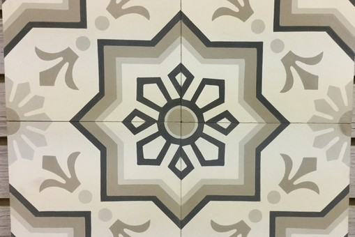 French Encaustic Cement Tiles