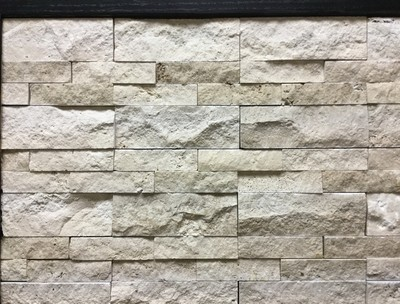 Mosaic - Beige Strips Split Face
