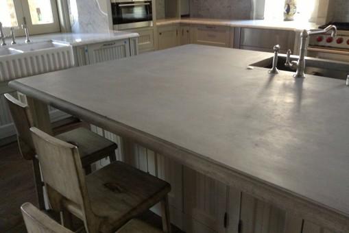 zinc gallery countertops cast pewter custom bastille by res la countertop