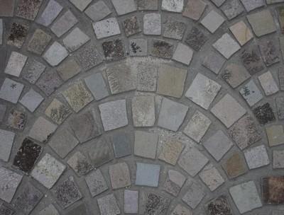 corona rustic cobbles arch mesh