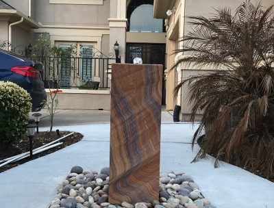 Rainbow Teakwood Fountain